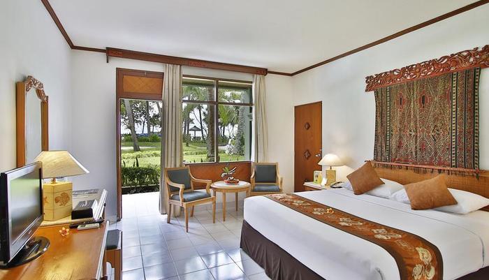 Jayakarta Hotel Lombok - Kamar Tidur Cottage