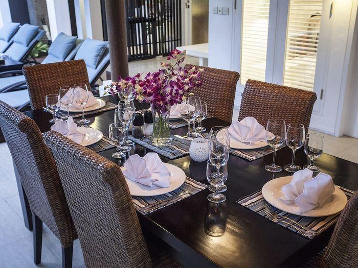 Lakshmi Villas Bali - Living Area