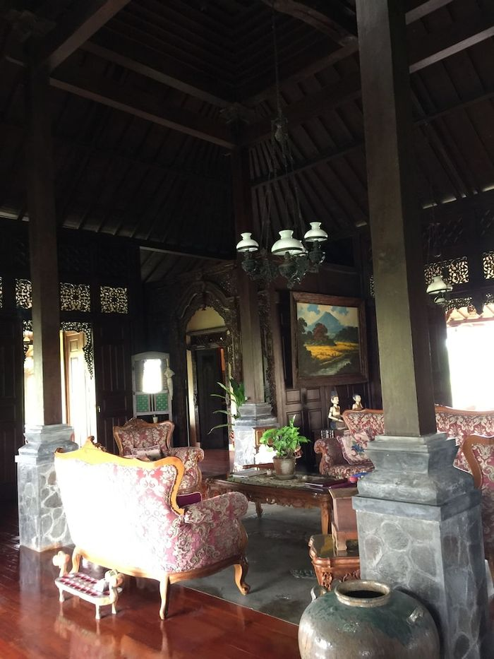 Joglo Java Semarang - Living Room