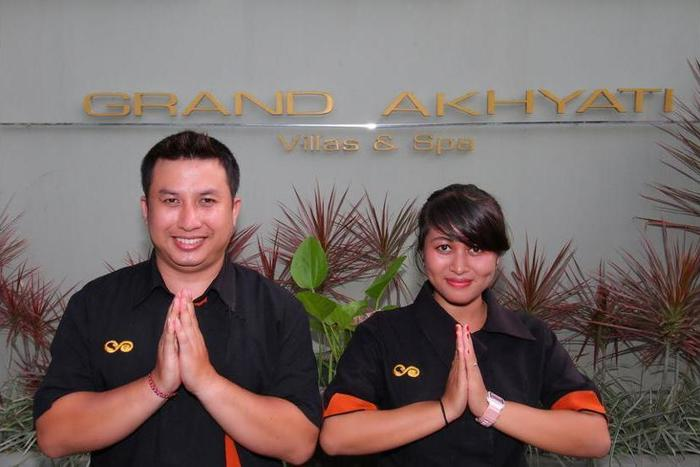 Grand Akhyati Villas & Spa Bali - Reception