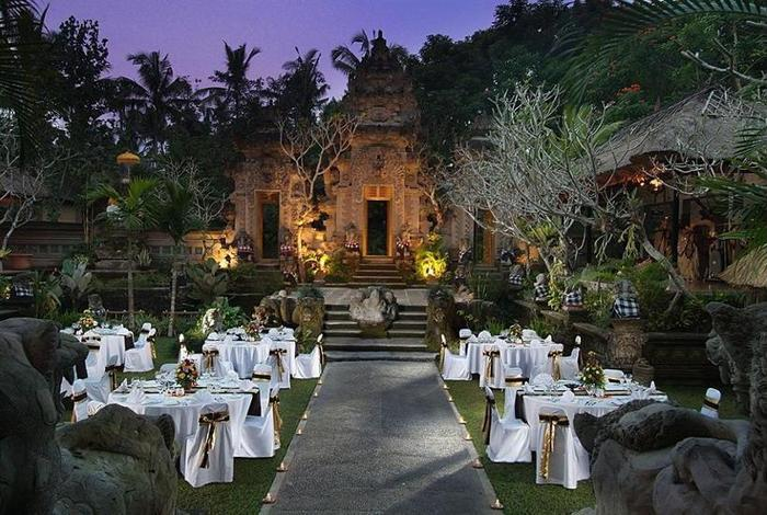 Royal Pita Maha Ubud - Outdoor Dining