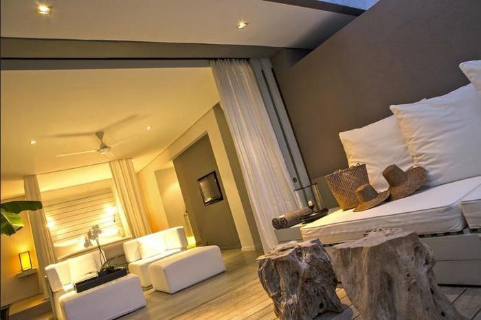 The Lombok Lodge Senggigi - Living Area