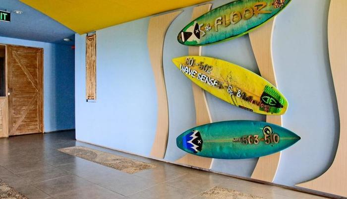Bliss Surfer Thematic Hotel Bali - Interior