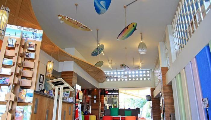 Bliss Surfer Thematic Hotel Bali - Lobi