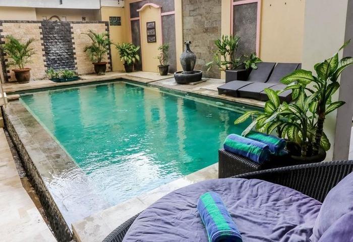 NIDA Rooms Uluwatu 1 Jimbaran Beach Bali - Kolam Renang