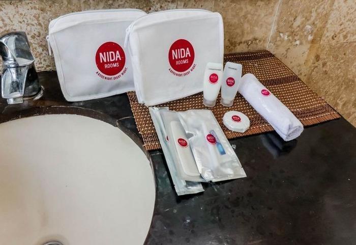 NIDA Rooms Uluwatu 1 Jimbaran Beach Bali - Kamar mandi