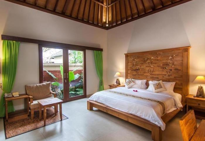 Onje Villa Ubud - Kamar tamu
