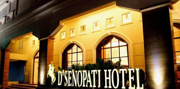 D'Senopati Malioboro Grand Hotel Yogyakarta - Area depan