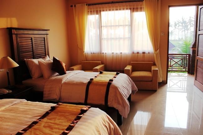 Bhuwana Ubud Hotel Bali - Deluxe Tempat Tidur Twin