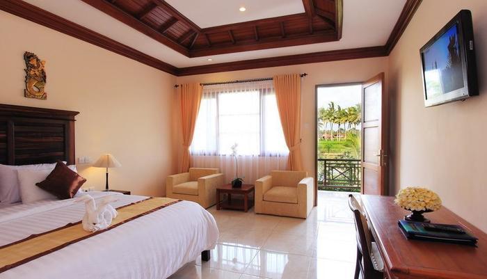 Bhuwana Ubud Hotel Bali - Deluxe Tempat Tidur Double kamar