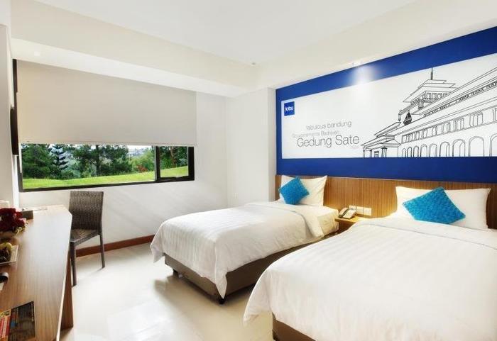 Fabu Hotel Bandung - Deluxe Twin