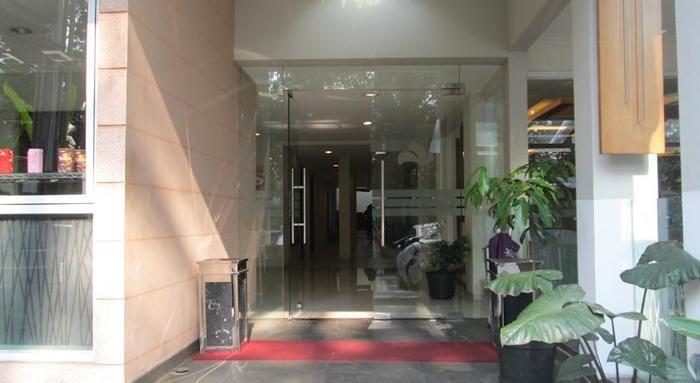 Anggrek Gandasari Hotel Bandung - Entrance