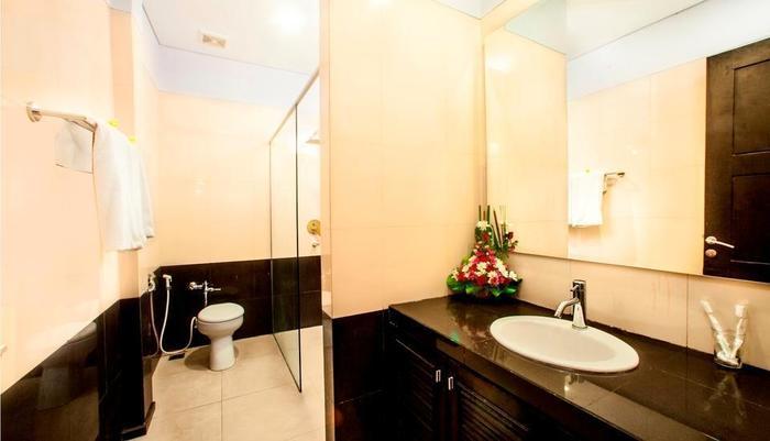 The Radiant Hotel Bali - Kamar Mandi