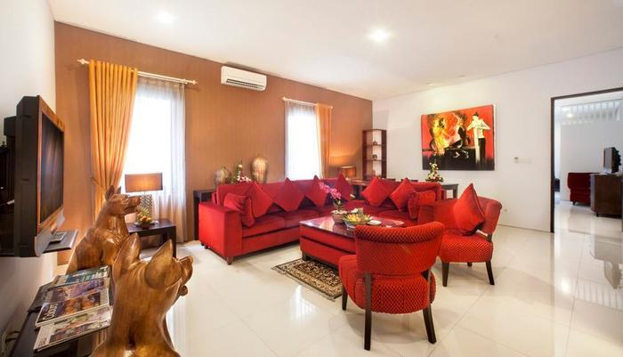The Radiant Hotel Bali - Executive Living Room