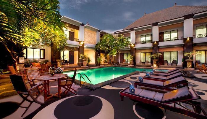 The Radiant Hotel Bali - Hotel View
