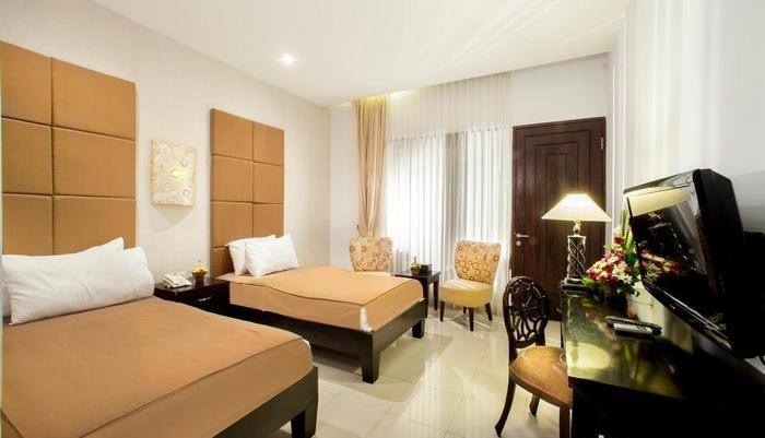 The Radiant Hotel Bali - Superior Room Twin Bed