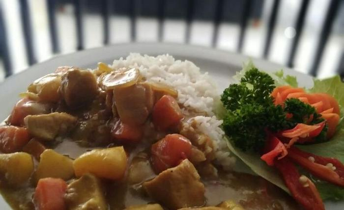 The Radiant Hotel Bali - Chicken Spicy Curry