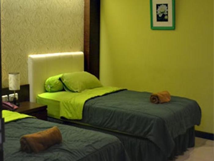 Rizh Garden Family Hotel Bandung - Kamar tamu