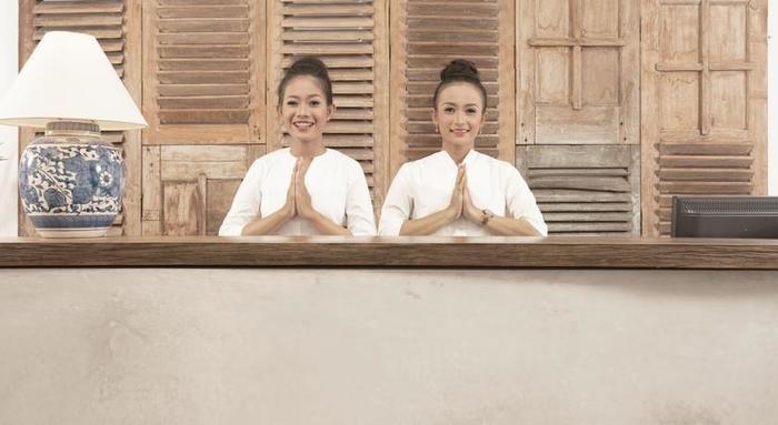 Adhisthana Hotel Yogyakarta - Resepsionis