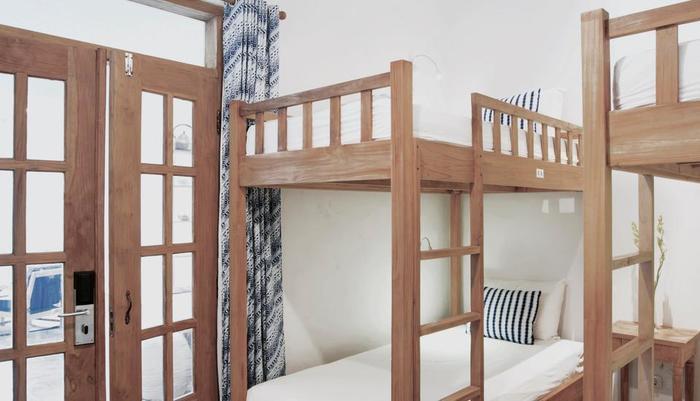 Adhisthana Hotel Yogyakarta - bed in 6-beds Dormitory Female Room