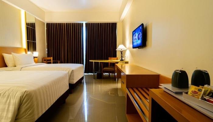 Golden Palace Lombok - Superior Twin Bed Roomm