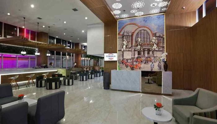 Cordela Hotel Senen - Lobi
