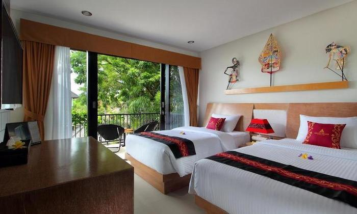 Agata Villas Bali - tempat tidur Twin