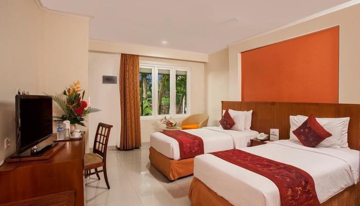 Restu Bali Hotel Bali - Deluxe Twin Bed Cempaka