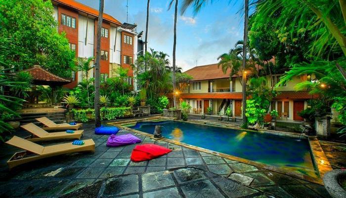 Restu Bali Hotel Bali - Back Pool