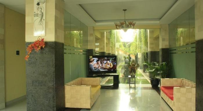 Bali Mega Hotel Bali - Ruang tamu di lobi