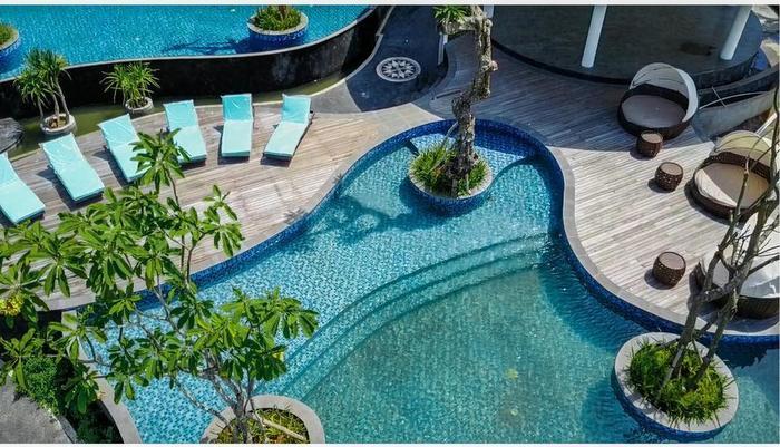Swiss-Belresort Pecatu Bali - Kolam Renang laguna