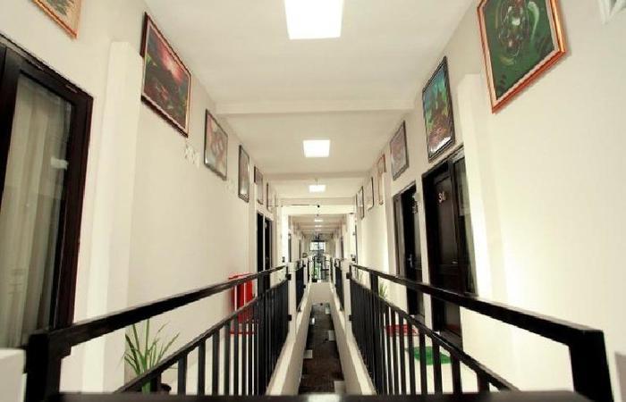 Maleo Kostel Cempaka Putih Yogyakarta - garis kamar