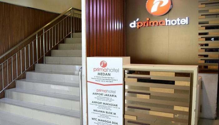 D Primahotel Medan - Front Office