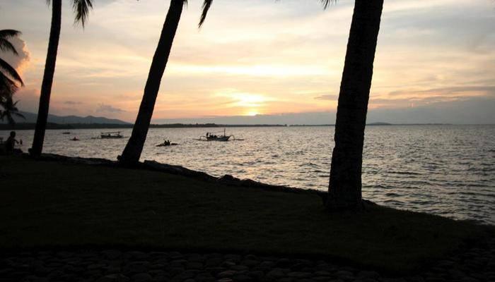 Mina Tanjung Beach Hotel Lombok - Pemandangan