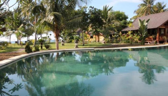 Mina Tanjung Beach Hotel Lombok - Kolam renang