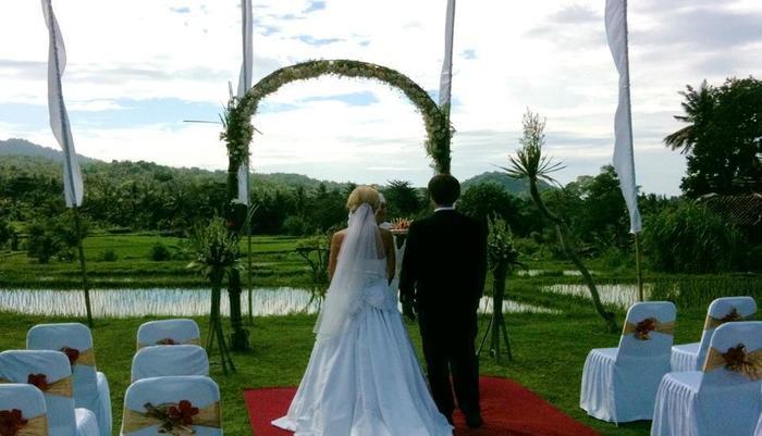 Puri Bagus Manggis Hotel Bali - Wedding Set Up