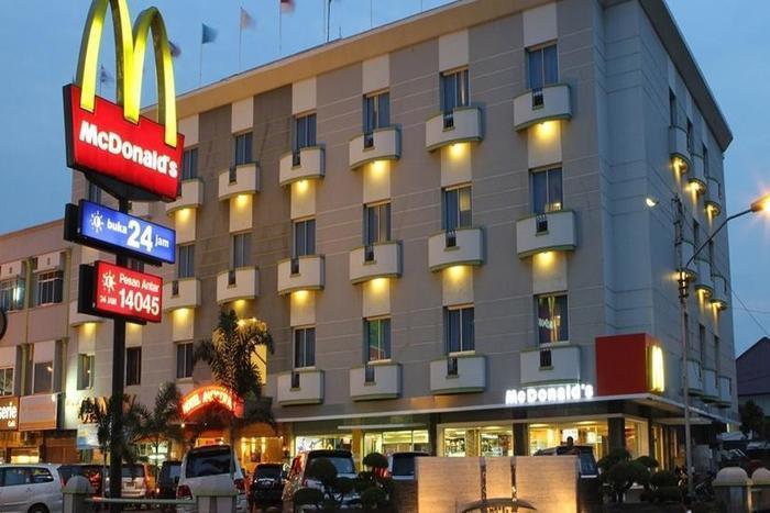 Hotel Anugerah Palembang - Tampilan Luar Hotel