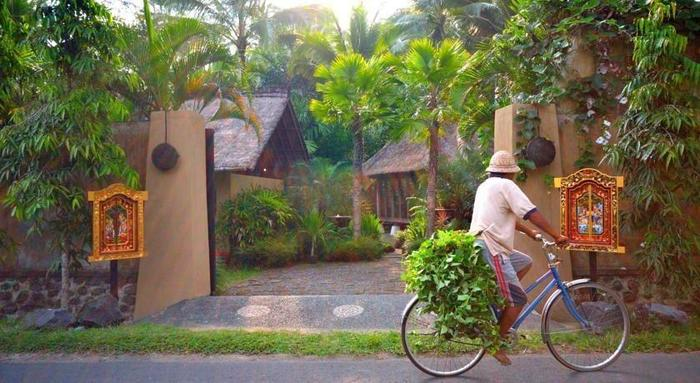 Jendela di Bali Villa Bali - Pintu masuk