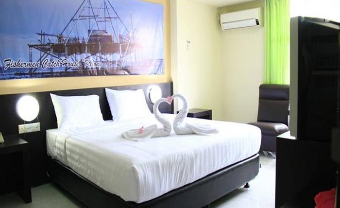 Sampurna Jaya Hotel Tanjung Pinang - Kamar tamu