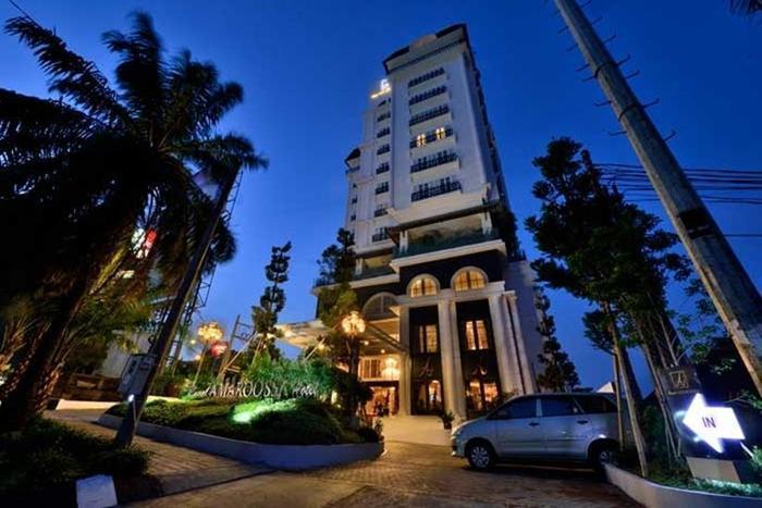 Hotel Amaroossa Bogor - Tampilan Luar Hotel
