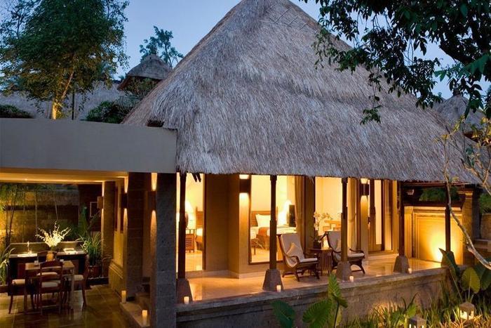 Kamandalu Ubud - Tampilan Luar Hotel