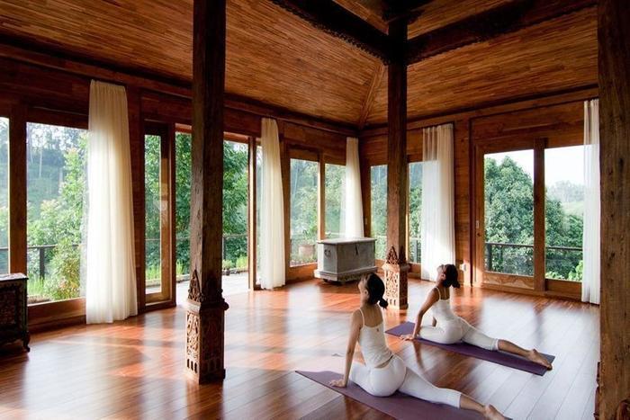 Kamandalu Ubud - Ruang yoga