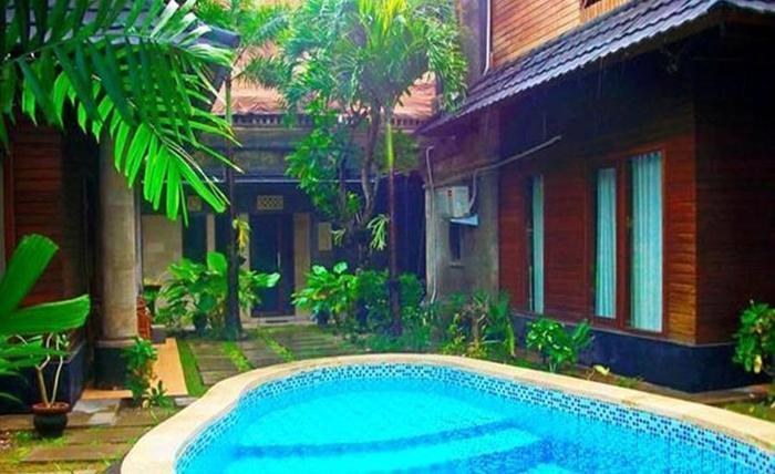 Villa Happy Jimbaran Bali - Kolam Renang kedua