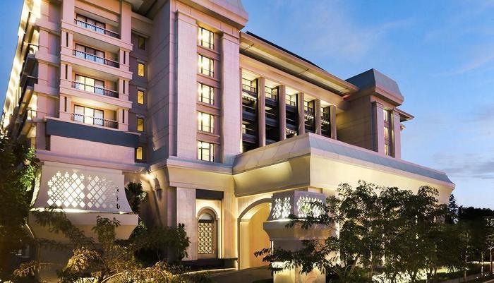 Hotel Tentrem Yogyakarta - Tampak Luar Hotel