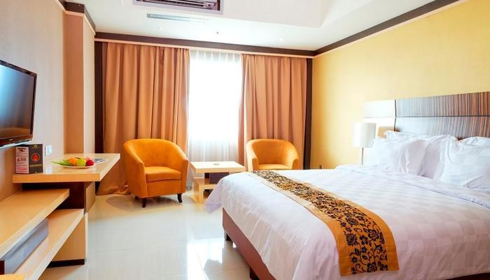 Nagoya Mansion Batam - Executive Deluxe dengan pemandangan