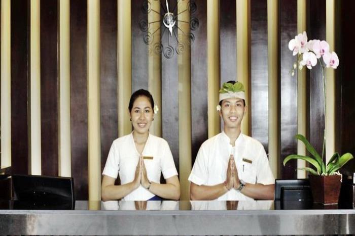 Adhi Jaya Hotel Bali - Resepsionis