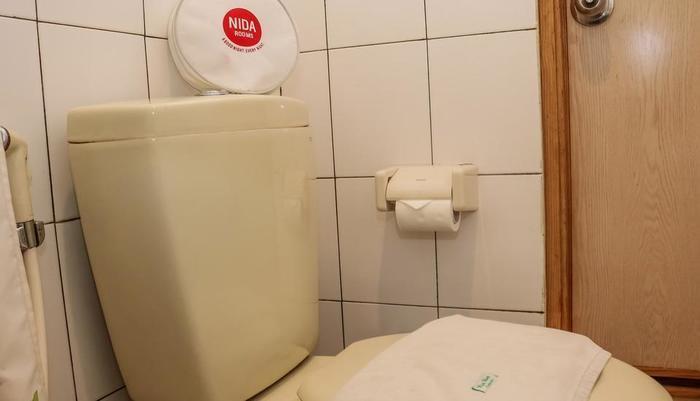 NIDA Rooms Factory Outlets Coblong - Kamar mandi