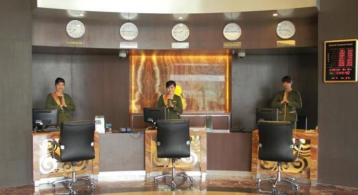 Grand Central Hotel Pekanbaru - Resepsionis