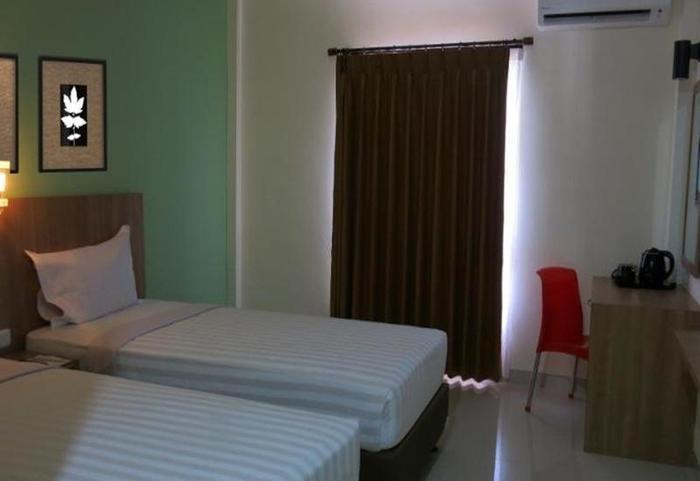Kanasha Hotel Medan - Kamar Deluxe
