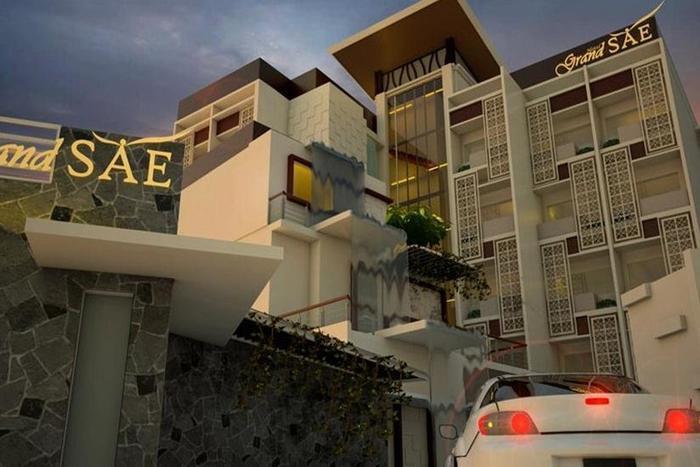 Grand Sae Hotel Solo - Tampilan Luar Hotel